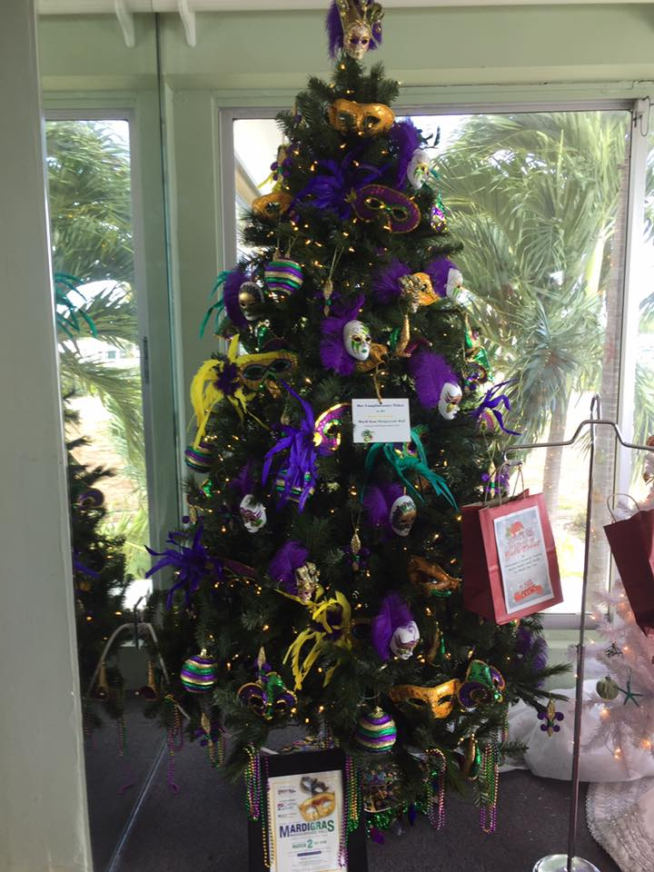 Fishermen's Community Hospital Baptist Health South Florida - The Mardi Gras Tree
