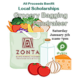 Grocery Fundraiser Flyer