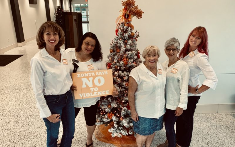Zonta Says No To Violence