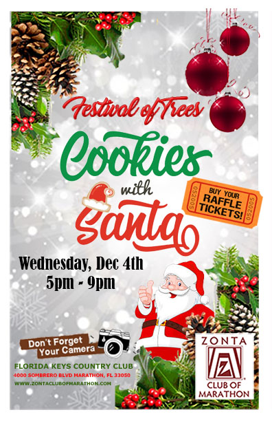 Festival of Trees 2019 Cookies with Santa